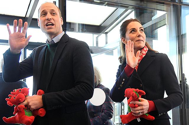 Кейт Миддлтон и принц Уильям решили отдохнуть от королевских обязанностей