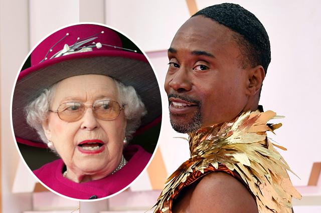 """Королевская рать: платье Билли Портера на """"Оскаре"""" было вдохновлено Кенсингтонским дворцом"""