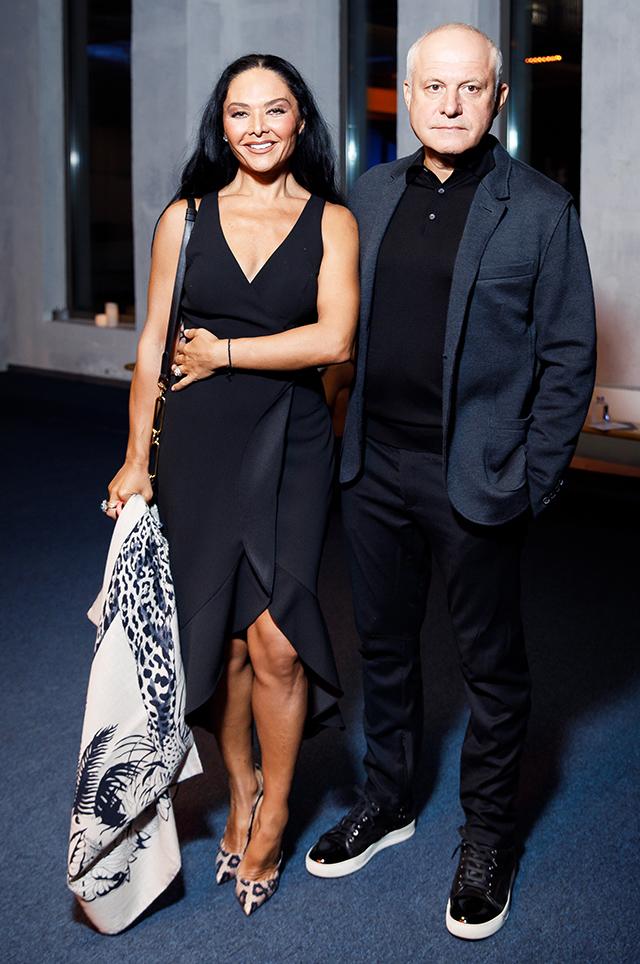 Миранда Мирианашвили и Леонид Огарев