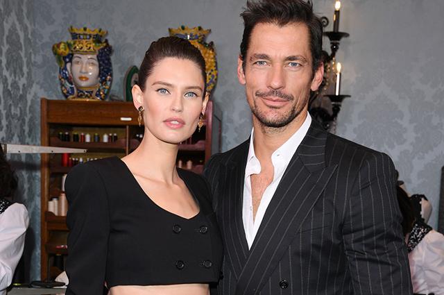 Неделя моды в Милане: Бьянка Балти, Дэвид Ганди и звезда Tik Tok из России на показе Dolce & Gabbana