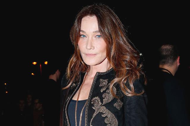 Неделя моды в Париже: Карла Бруни, Джейн Биркин, Изабель Юппер и другие на показе Celine