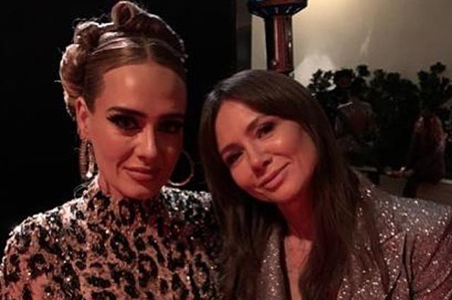 """Поклонница не узнала похудевшую Адель на вечеринке после """"Оскара-2020"""""""