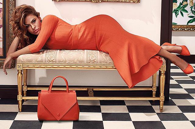 Лимоны и горошек: Ева Мендес представила свою новую весеннюю коллекцию одежды
