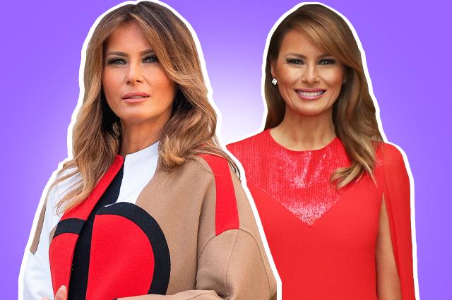 Мелании Трамп — 50 лет: лучшие образы первой леди США