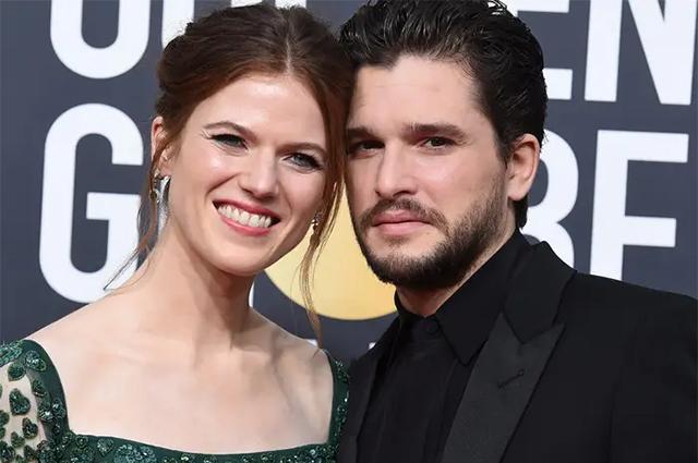 Кит Харингтон и Роуз Лесли впервые станут родителями