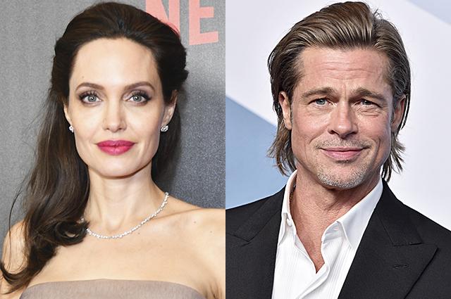 СМИ: Джоли запретила Питту видеться с детьми после его возвращения из отпуска с новой девушкой
