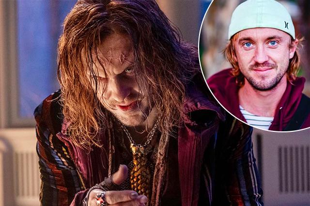 Том Фелтон изменился до неузнаваемости ради роли монстра в новом фильме Netflix