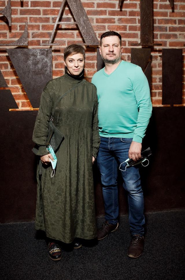 Нелли Уварова с мужем Александром Гришиным