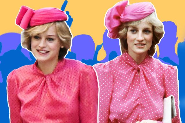 """В жизни и на экране: сравниваем наряды принцессы Дианы из сериала """"Корона"""" с оригиналами"""