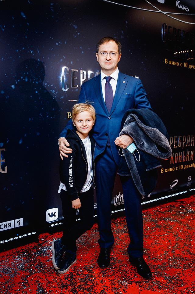 Владимир Мединский с сыном