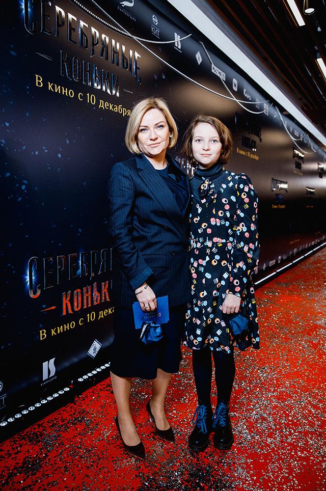 Ольга Любимова с дочерью Варварой