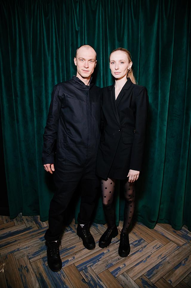 Юрий Борисов и Анна Шевчук