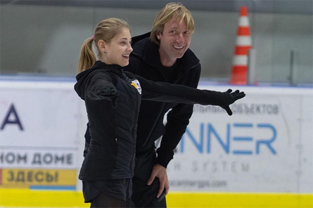 Евгений Плющенко показал, как живут Косторная, Трусова и Липницкая на его спортивной базе