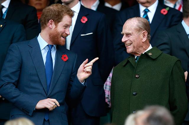 Принц Гарри выпустил официальное заявление в связи со смертью принца Филиппа