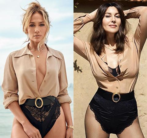 Модная битва: Дженнифер Лопес против Моники Беллуччи