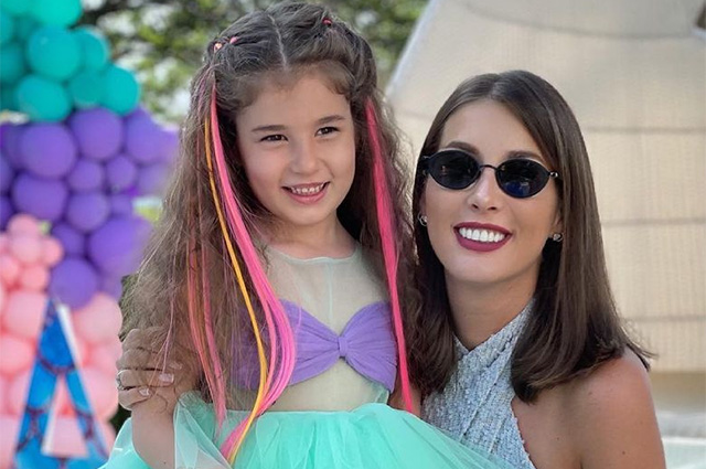 Кети Топурия отпраздновала день рождения дочери Оливии